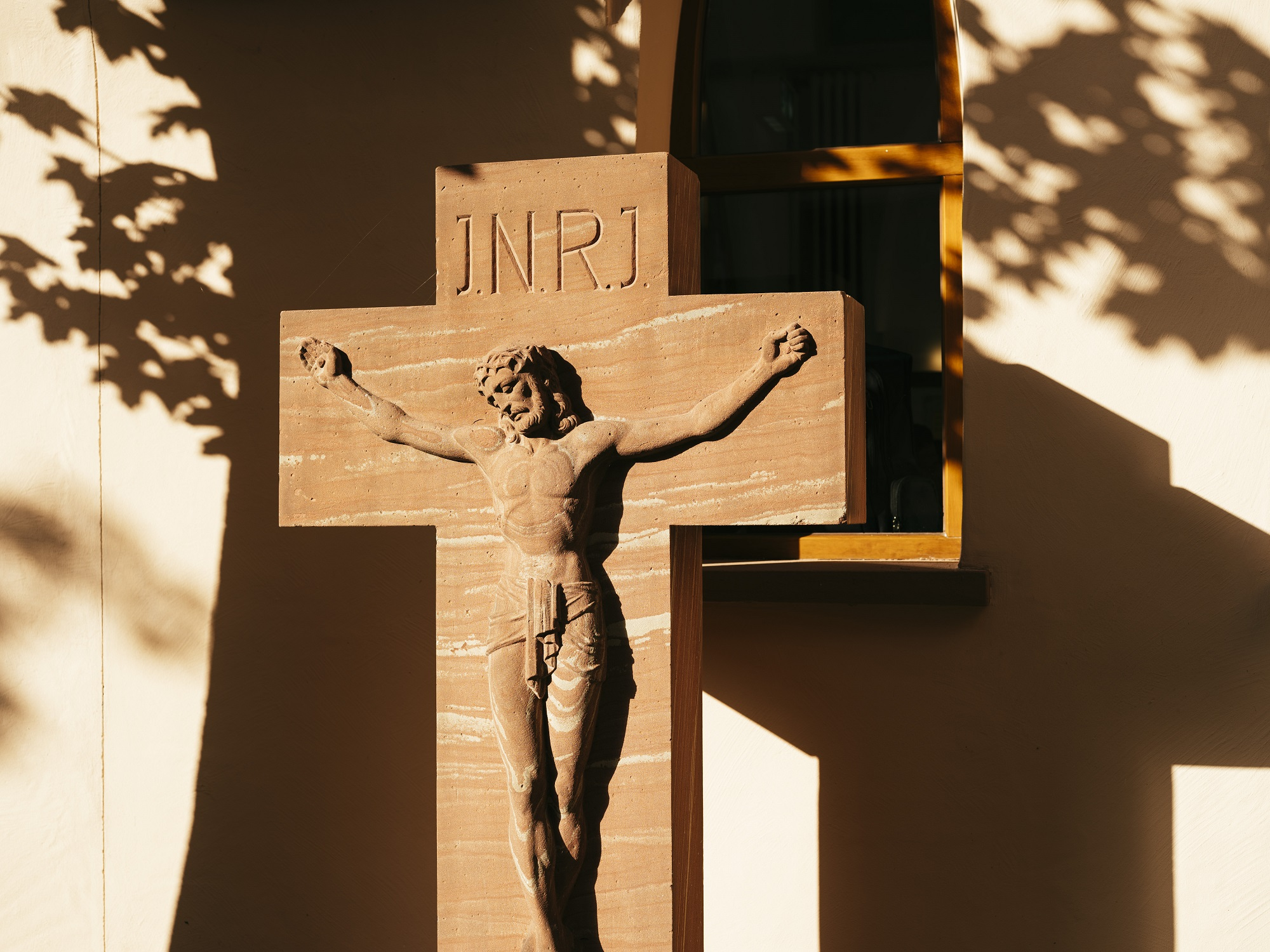 Liebfrauenkirche Frankfurt Kreuz