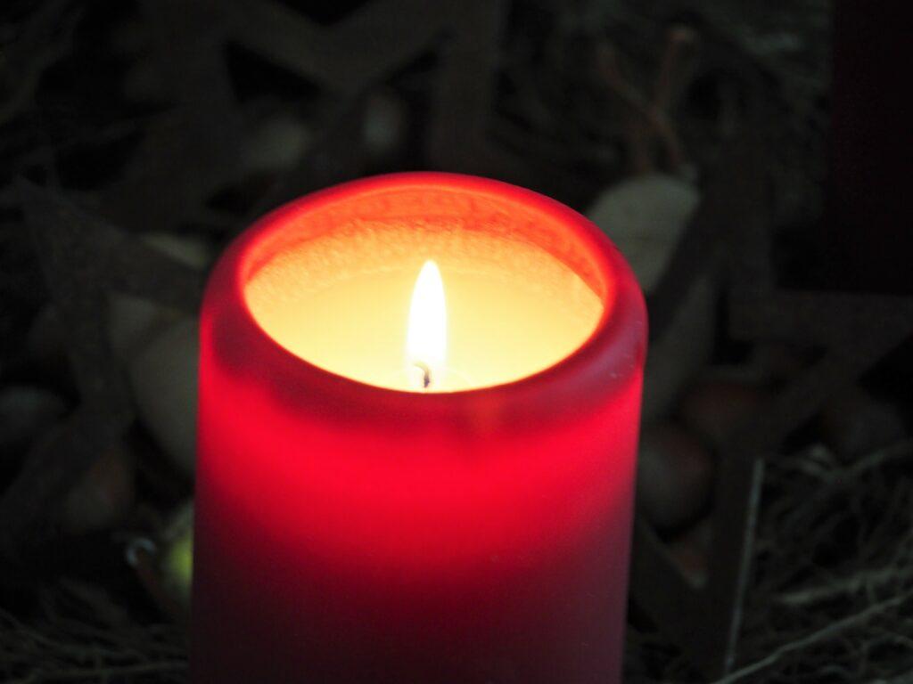 Kerze Advent